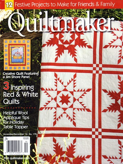 Quiltmaker Cover - 11/1/2016