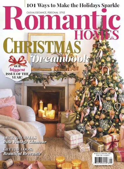 Romantic Homes Cover - 11/1/2016
