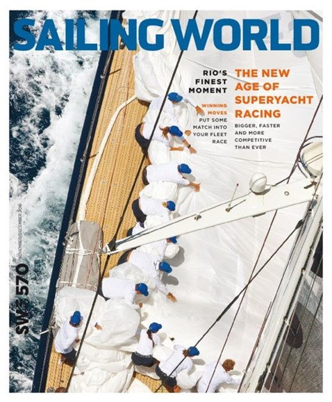 Sailing World Cover - 11/1/2016