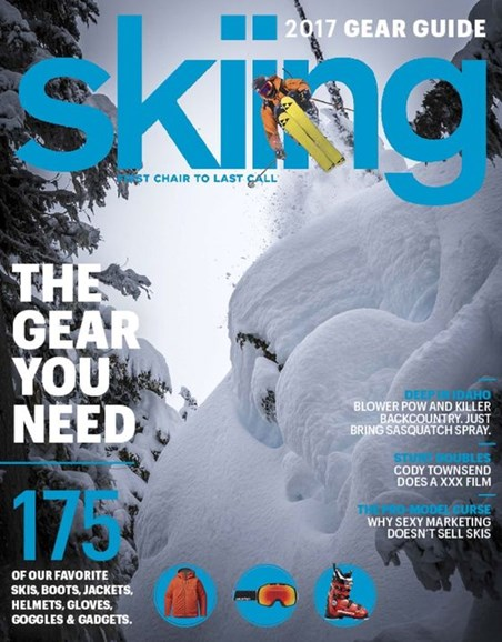 Skiing Cover - 11/1/2016