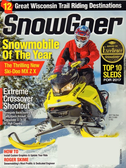 Snow Goer Cover - 11/1/2016