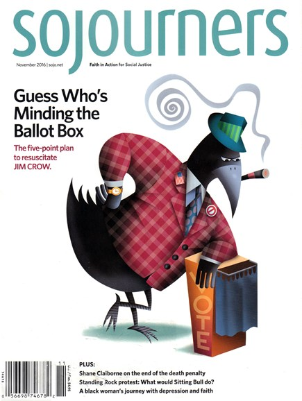 Sojourners Cover - 11/1/2016
