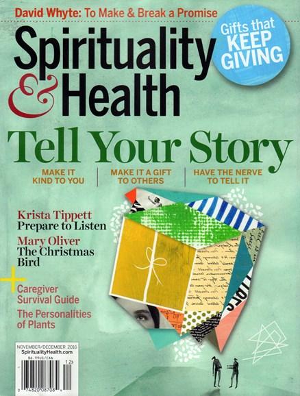 Spirituality & Health Cover - 11/1/2016
