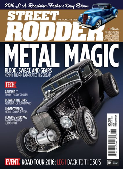 Street Rodder Cover - 11/1/2016