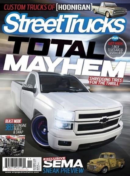 Street Trucks Cover - 11/1/2016