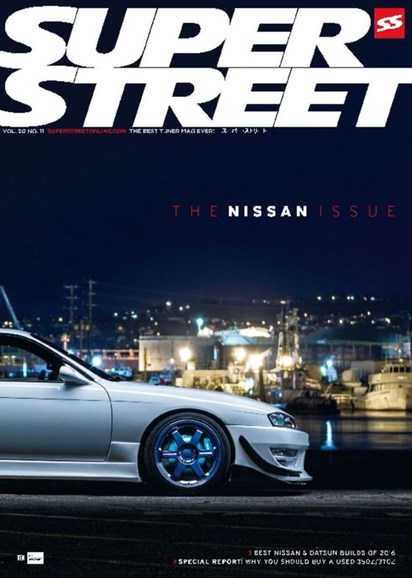 Super Street Cover - 11/1/2016