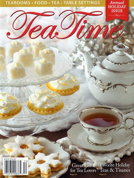 Tea Time Cover - 11/1/2016