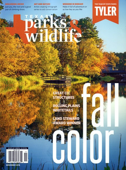 Texas Parks & Wildlife Cover - 11/1/2016