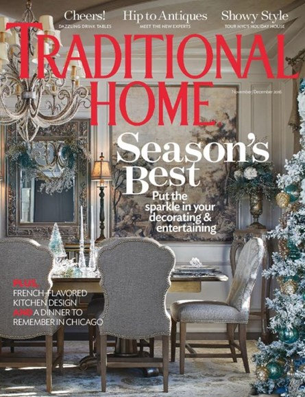Traditional Home Cover - 11/1/2016