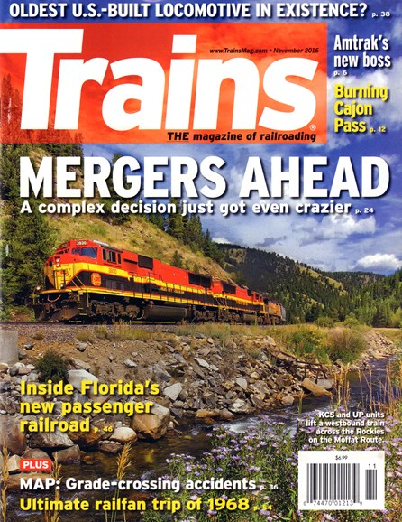 Trains Cover - 11/1/2016