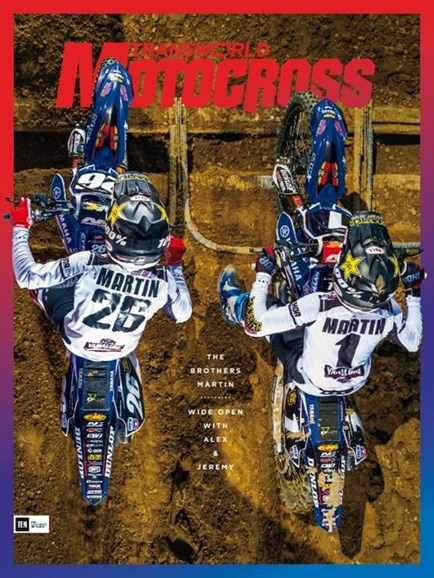 Transworld Motocross Cover - 11/1/2016