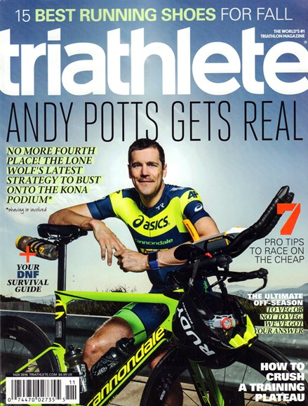 Triathlete Cover - 11/1/2016