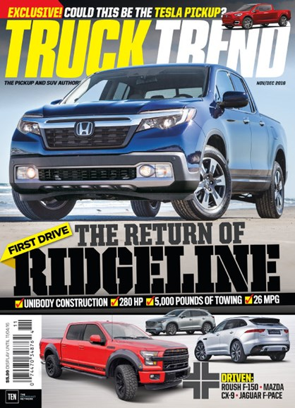Truck Trend Cover - 11/1/2016