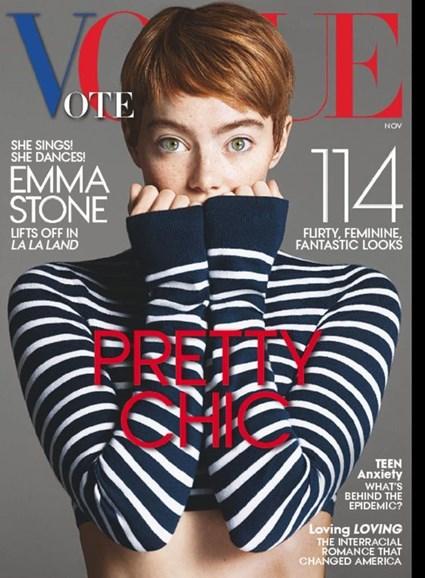 Vogue Cover - 11/1/2016