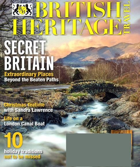 British Heritage Travel Cover - 11/1/2016