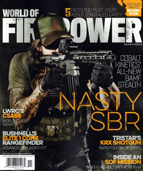 World of Firepower Cover - 11/1/2016