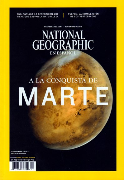 National Geographic En Español Cover - 11/1/2016