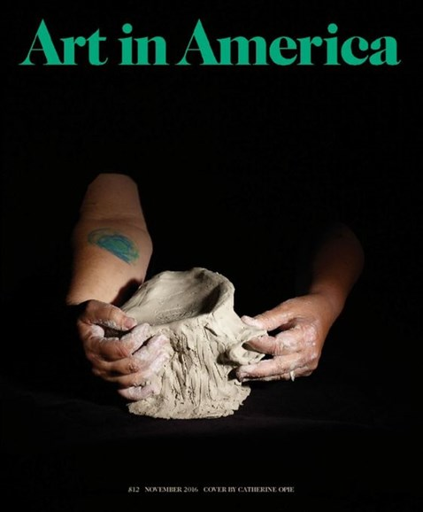 Art In America Cover - 11/1/2016