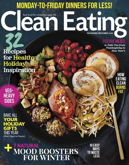 Clean Eating Cover - 11/1/2016