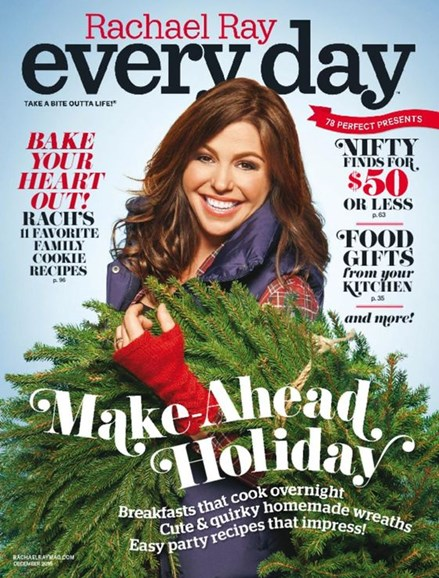 Rachael Ray Every Day Cover - 12/1/2016