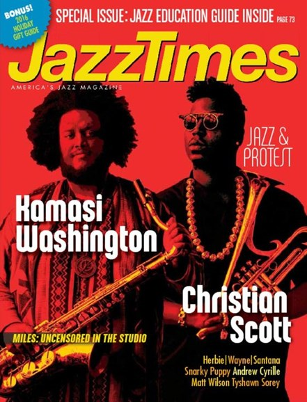JazzTimes Cover - 11/1/2016