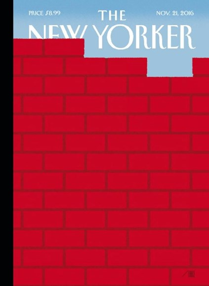 The New Yorker Cover - 11/21/2016