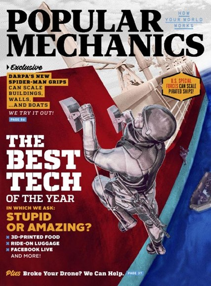Popular Mechanics Cover - 12/1/2016