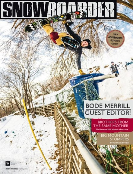 Snowboarder Cover - 11/1/2016