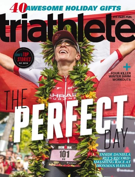 Triathlete Cover - 12/1/2016