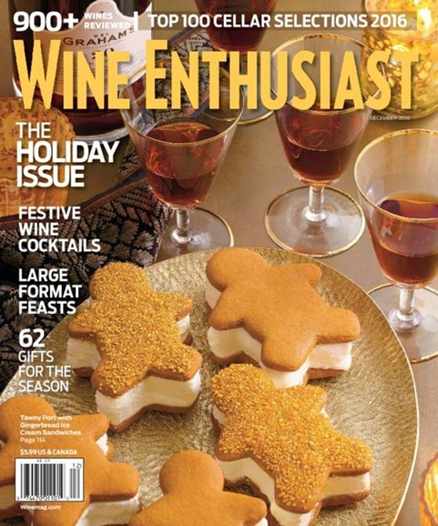 Wine Enthusiast Cover - 12/1/2016
