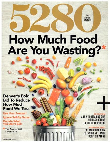 5280 Magazine Cover - 11/1/2016