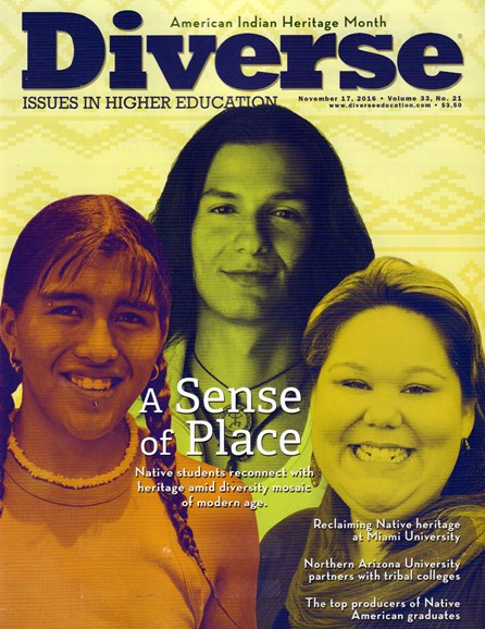 Diverse: Issues In Higher Education Cover - 11/17/2016