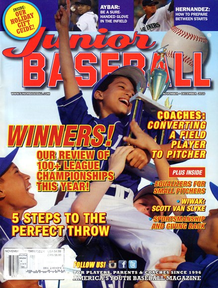 Junior Baseball Cover - 11/1/2016