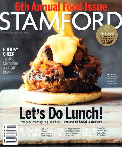 Stamford Magazine Cover - 11/20/2016