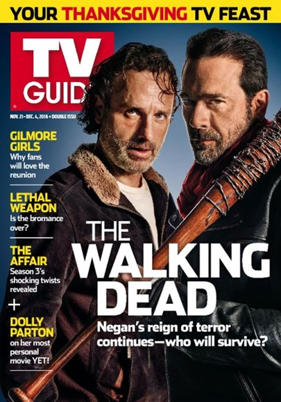 TV Guide Cover - 11/21/2016