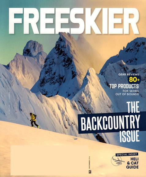 Freeskier Cover - 12/1/2016