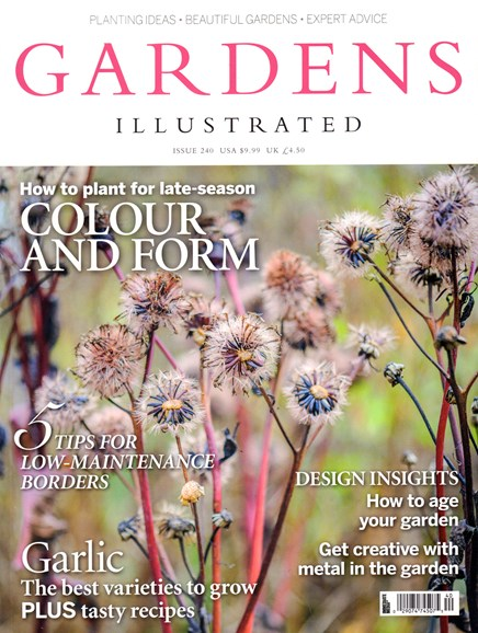 Gardens Illustrated Cover - 11/1/2016