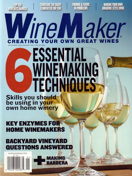Winemaker Cover - 12/1/2016