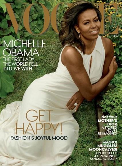 Vogue Cover - 12/1/2016