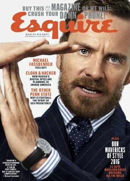 Esquire Cover - 12/1/2016