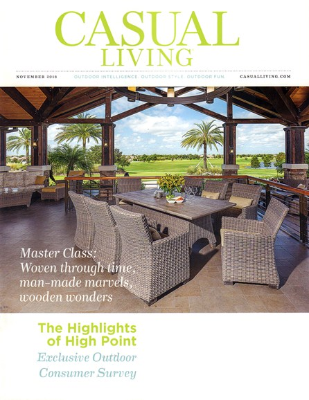 Casual Living Cover - 11/1/2016