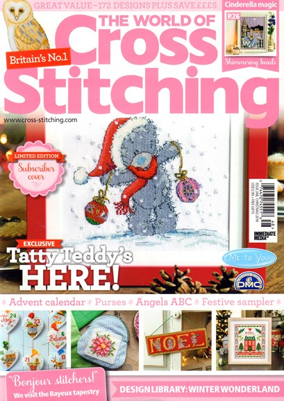 The World of Cross Stitching Cover - 12/1/2016