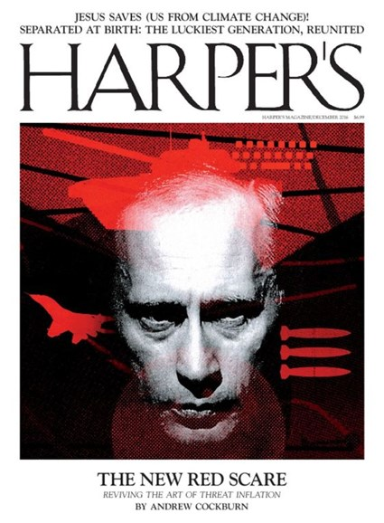 Harper's Cover - 12/1/2016