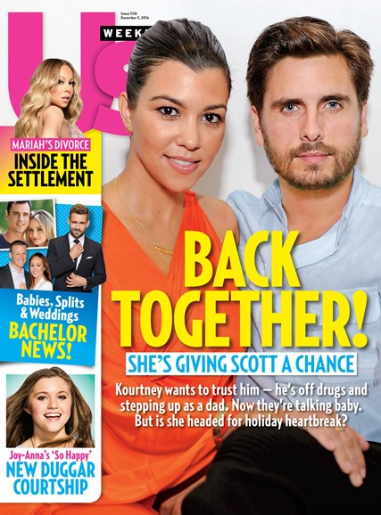 Us Weekly Cover - 12/3/2016