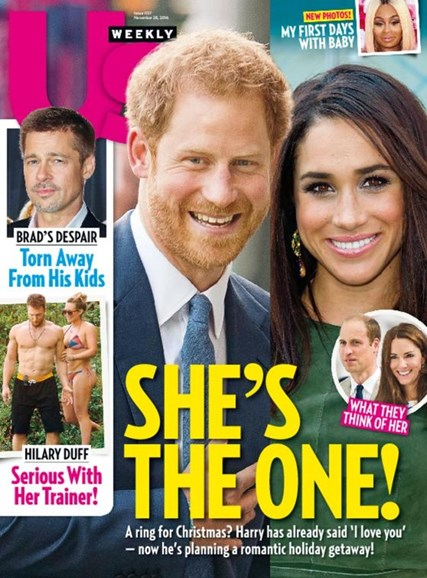 Us Weekly Cover - 11/28/2016