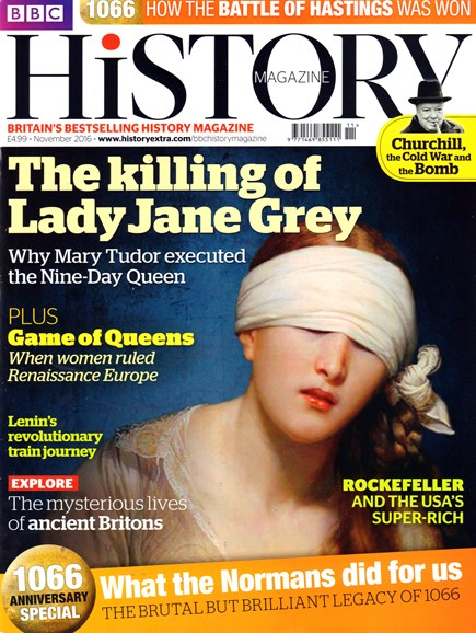 BBC History Cover - 11/1/2016