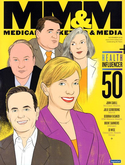 Medical Marketing & Media Cover - 11/1/2016