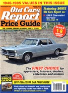 Old Cars Report Price Guide 11/1/2016