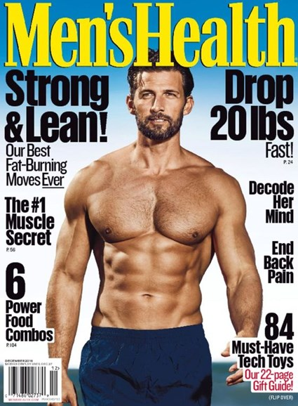 Men's Health Cover - 12/1/2016