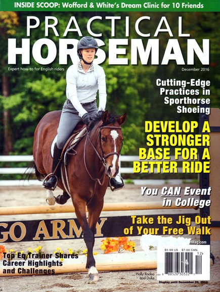 Practical Horseman Cover - 12/1/2016